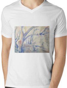 Snow gums by Liz H Lovell Mens V-Neck T-Shirt