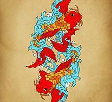 GOLD FISH  by motiashkar