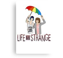 Life Is Strange - Max and Chloe Style 1 Canvas Print