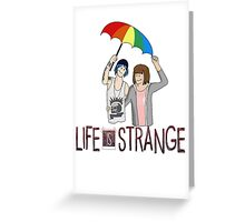 Life Is Strange - Max and Chloe Style 1 Greeting Card