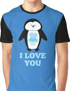 I love you penguin Graphic T-Shirt