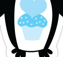 I love you penguin Sticker