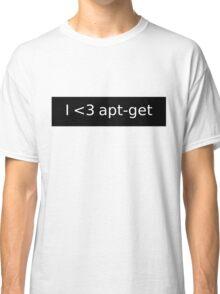 apt-get love Classic T-Shirt