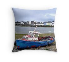 Claddagh Boat Throw Pillow
