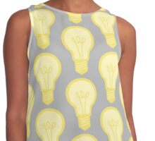 Yellow and Grey Light Bulb Contrast Tank