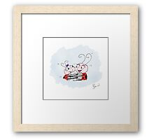 Mila Bug The Little Ladybird - Big Hugs Framed Print