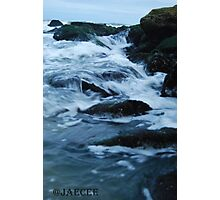 Streaming waves - Long Beach, NY Photographic Print