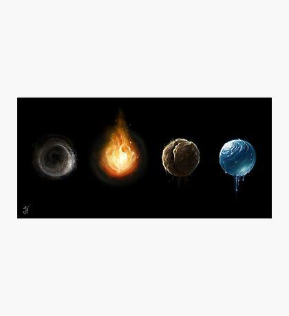 4 Elements  Photographic Print