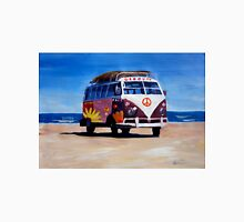Surf Bus Series - The Groovy Peace VW Bus Unisex T-Shirt