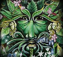 The Green Man by mortimersparrow