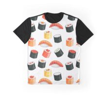 Sushi seamless pattern all-over print Graphic T-Shirt