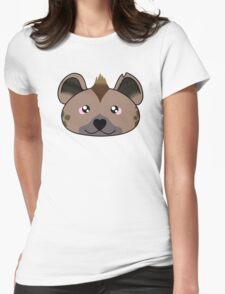 Hyena - African Wildlife Womens Fitted T-Shirt