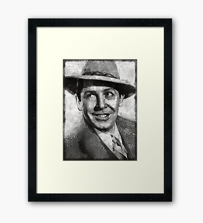 Milton Berle Hollywood Actor Framed Print