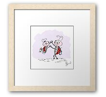 Mila Bug - High Five Framed Print