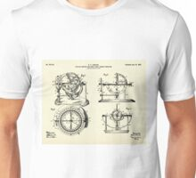 Stellar Compass and Great Circle Course Projector-1902 Unisex T-Shirt