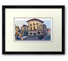 Via degli Strozzi Framed Print