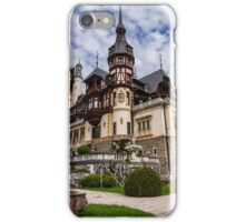 Peles Castle, Sinaia, Romania iPhone Case/Skin
