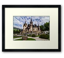 Peles Castle, Sinaia, Romania Framed Print
