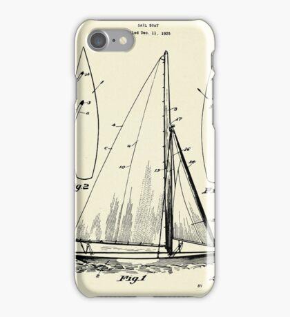 Sail Boat-1927 iPhone Case/Skin