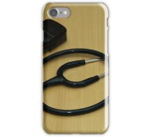 stethoscope and stamp iPhone Case/Skin