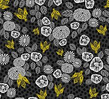 Bee Garden by Andrea Lauren by Andrea Lauren