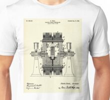 Electric Circuit Controller-1898 Unisex T-Shirt