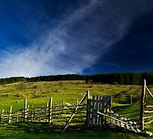 Rural landscape by jordanrusev
