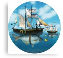 Sea Journey Canvas Print