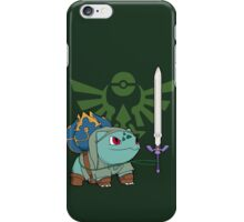 The Hero of Time (and grass) iPhone Case/Skin
