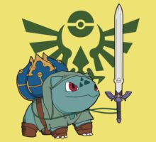 The Hero of Time (and grass) Kids Clothes