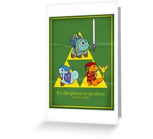 The Hero of Time (and grass) Greeting Card