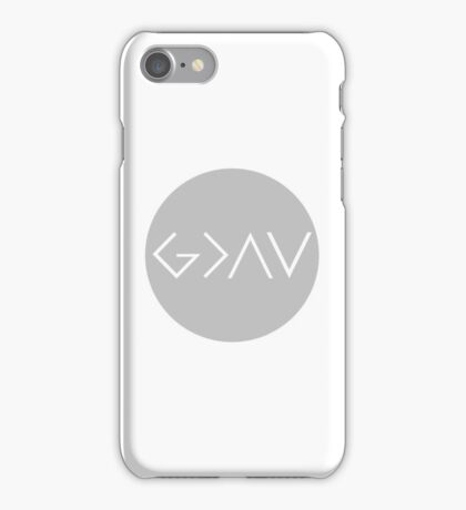 God Is Greater Than the Highs and Lows iPhone Case/Skin