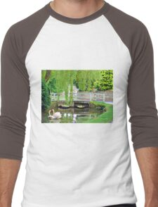 Reflections in Time Men's Baseball ¾ T-Shirt