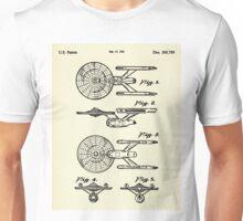 Starship Enterprise Star Trek-1981 Unisex T-Shirt