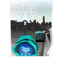 subway lovers Poster
