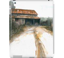 Wallburg Barn iPad Case/Skin