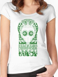 GREEDO (GREEN) Women's Fitted Scoop T-Shirt