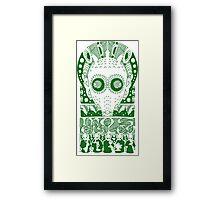 GREEDO (GREEN) Framed Print