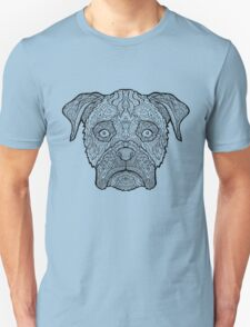 Boxer Dog - Detailed Dogs - Illustration Unisex T-Shirt