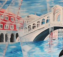 Rialto bridge, Italy by artshop77
