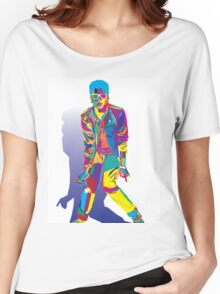 Wpap Bruno Portrait Women's Relaxed Fit T-Shirt
