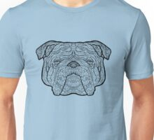 British Bulldog - Detailed Dogs - Illustration Unisex T-Shirt