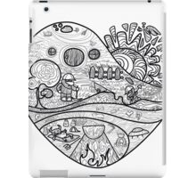 Heaven and hell are inside iPad Case/Skin