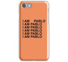 PABLO. iPhone Case/Skin