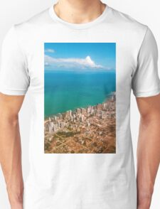 Sky, sea and buildings Unisex T-Shirt