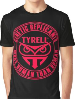 TYRELL CORPORATION - BLADE RUNNER (RED) Graphic T-Shirt