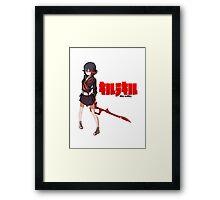 Matoi Ryuuko (KLK) Framed Print