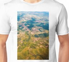 Land from the sky Unisex T-Shirt
