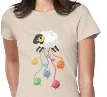 Wool Thread Womens Fitted T-Shirt