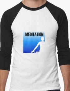 Meditation Men's Baseball ¾ T-Shirt